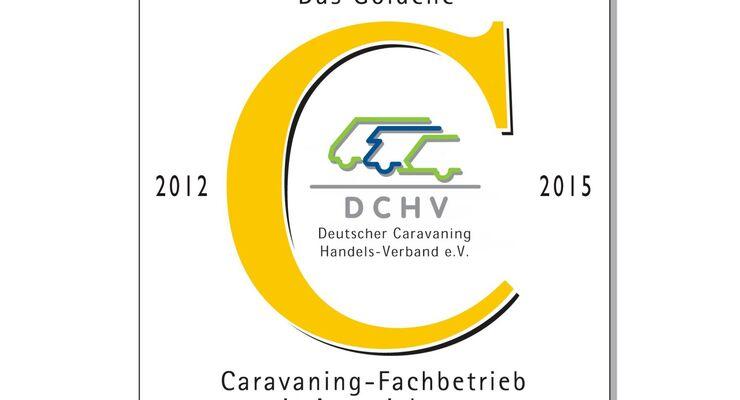 """""""Das Goldene C"""" ist Ausweis höchster Qualität im Caravaning-Fachhandel. Der wettbewerb jährt sich zum 22sten Mal."""