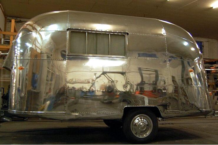 Airstream Wohnwagen Caravans Ausstellung Messe Hamburg