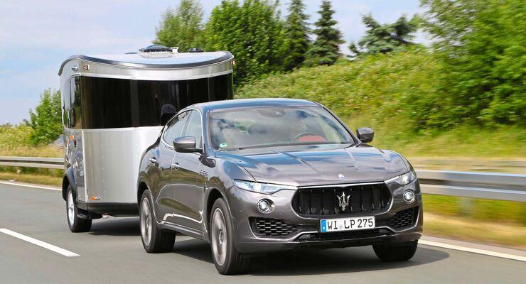 Airstream und Maserati wollten bislang nicht zusammenpassen, doch jetzt gibt es den Basecamp.
