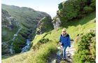 Besonders stimmungsvoll am Nachmittag ist der Wanderpfad bei Boscastle an der Westküste.