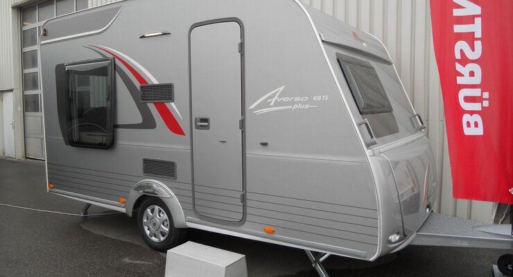 Bürstner erweitert sein Caravan-Angebot in den vier Baureihen Premio, Averso, Averso Top und Averso Plus.