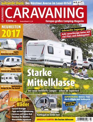 CARAVANING Cover Juli 2016