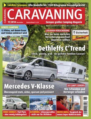 CARAVANING Heft 11/2014