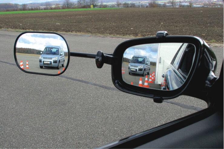 CARAVANING: Test Rückspiegel für Caravans Emuk Spezialspiegel