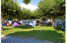 Camping La Pinède bei Port Grimaud.