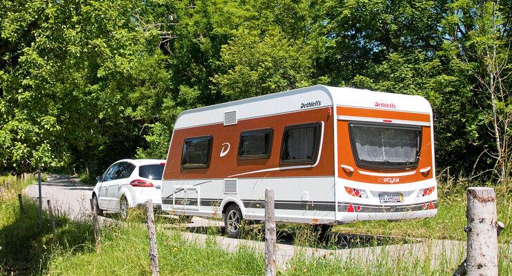 Caravan C'Trend Style mit Zugwagen