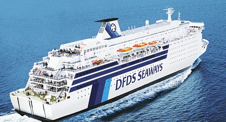 Caravan Fähre DFDS Quiz
