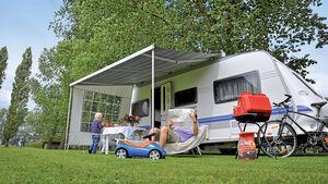 Caravan mit Markise