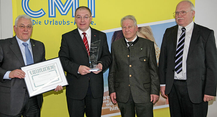 DCC Technik Award 2011 für Alko Trailer Control