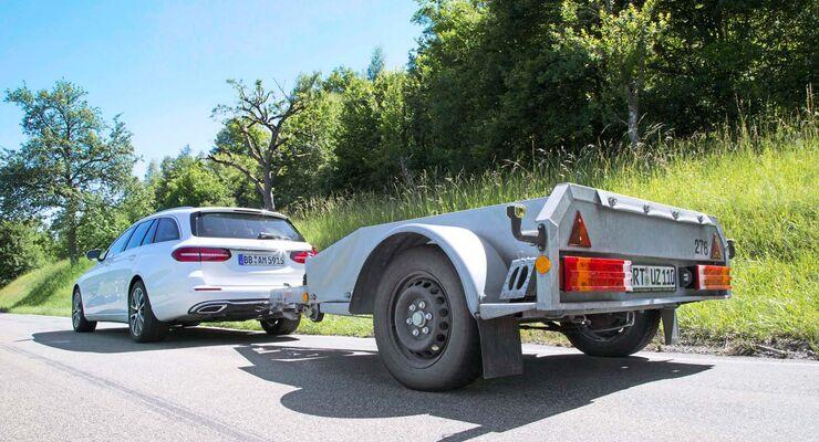 Damit Autos von Mercedes-Benz hohe Lasten ziehen dürfen, werden die PROTOTYPEN JAHRELANG GETESTET.