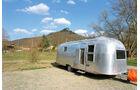 """Der Airstream ist das Symbol fuer Caravans """"made in USA""""."""