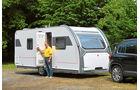 Der Alizé Conzept gehört zu den eleganten Erscheinungen in der Caravan-Welt. Neu ist die Tür mit ausgeformter Innenverkleidung.