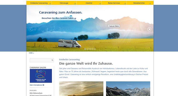 Der Caravaning Industrie Verband (CIVD) hat seine Website erneuert und möchte sich damit informativer präsentieren.