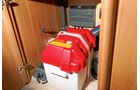 Elektrik für den Mover unter dem Kühlschrank.