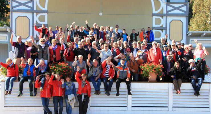 Familientreffen der Dethleffs Mitglieder auf Rügen