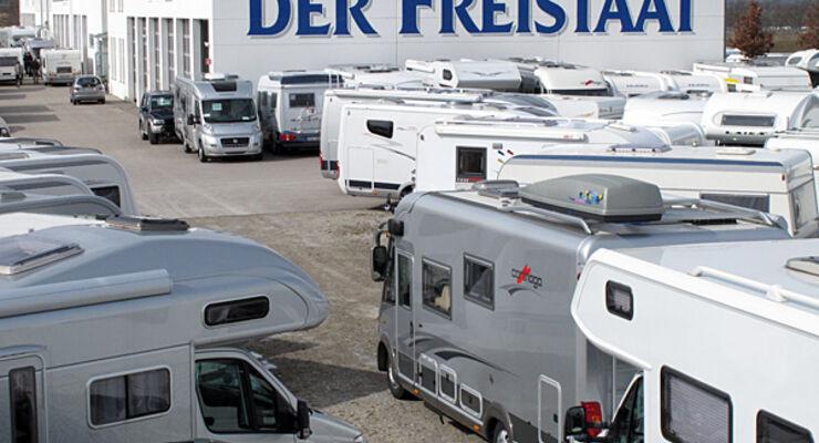 Freistaat, frühjahr, show, reisemobil, wohnmobil, wohnwagen, caravan
