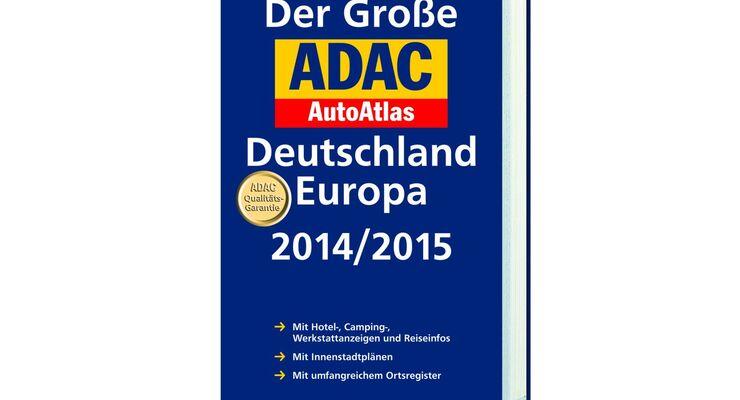 Für die Übersicht in Deutschland und seinen Nachbarregionen sorgen Karten im Maßstab 1 : 300.000.