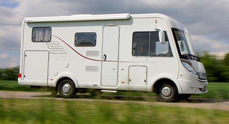 Italien, verkehr, Reisemobil, wohnmobil, caravan, wohnwagen