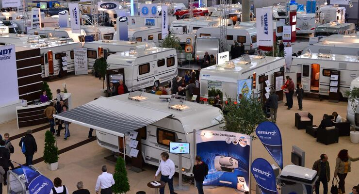 Messe Touristik & Caravaning International in Leipzig