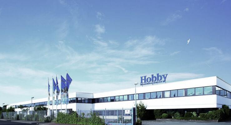 Mit einem Marktanteil von 28,4 Prozent führt Hobby zurzeit die deutsche Zulassungsstatistik bei den Caravans mit Abstand an