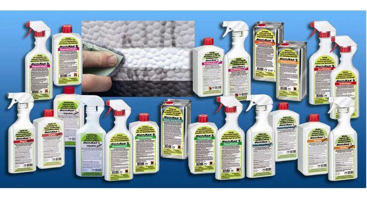 Multiman erweitert sein Angebot auf 16 Produkte, die in 0,5-Liter-Pumpsprüh- und Einliter-Flaschen erhältlich sind.