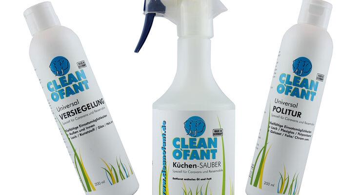 Neue Cleanofant Reinigungs-Produkte 2014