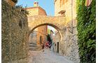 Peratallada mit mittelalterlichem Ortsbild
