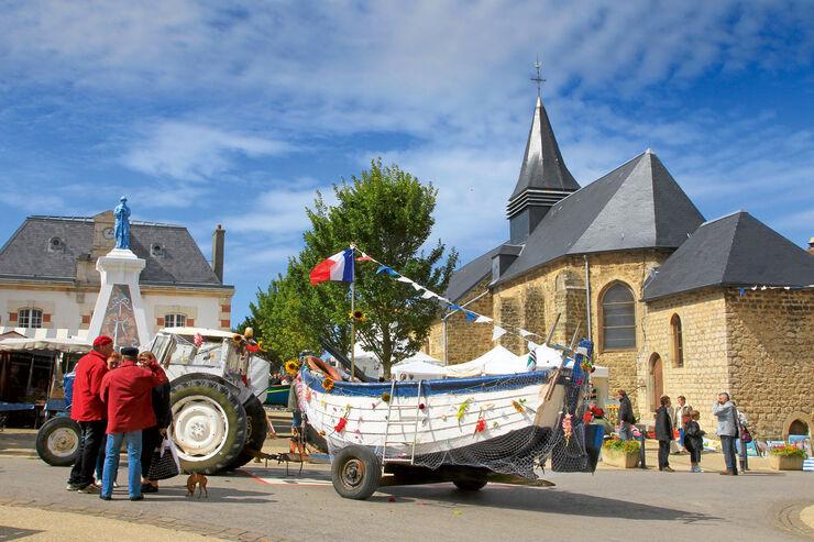 Reise-Journal: Fischerfest, Umzug