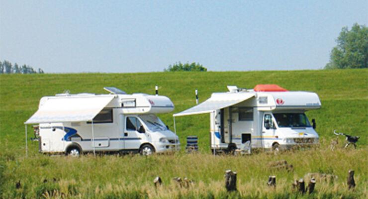 Stade, reisemobil, wohnmobil, caravan, wohnwagen