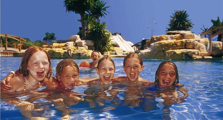 Über das Happy-Summer-Buchungssystem kann man Campingunterkünfte vor allem in Italien, Kroatien und Frankreich online buchen.