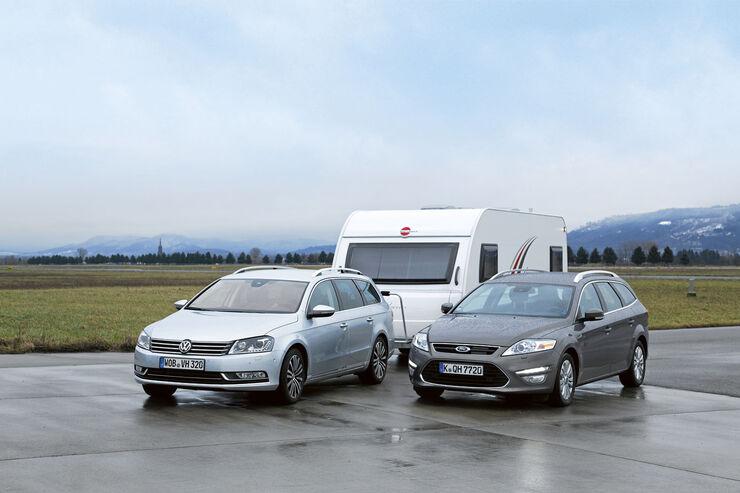 Vergleichstest: VW Passat/Ford Mondeo