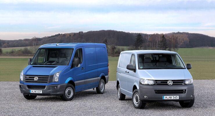 Volkswagen Nutzfahrzeuge hat 2011 das bislang beste Verkaufsergebnis seiner Geschichte erzielt