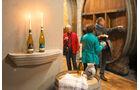 Weinprobe im historischen Keller