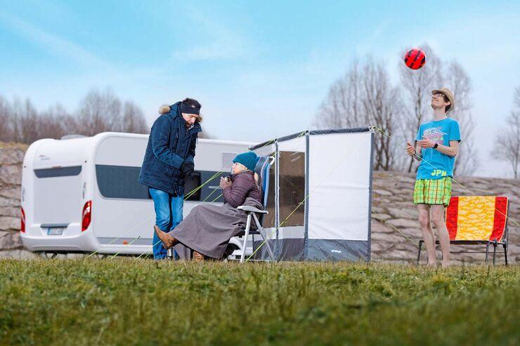 Windschutz 6 Windblockaden F R Camper Auf Dem Platz