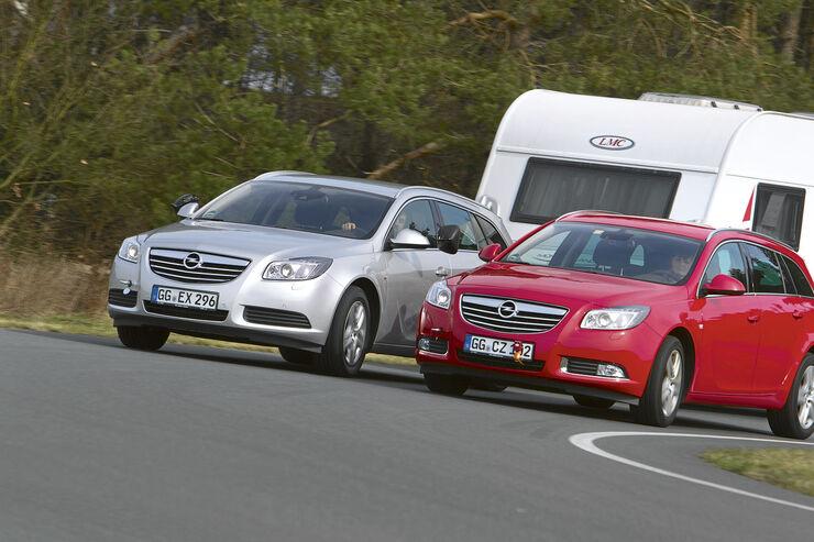 Zugwagentest: Front- gegen Allradantrieb, CAR 07/2012