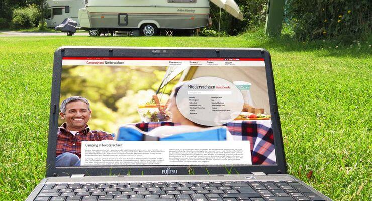 campingplätze in niedersachsen - neue homepage