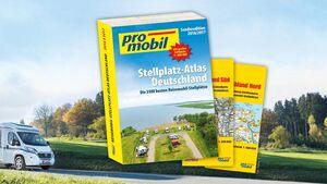 promobil Stellplatz Atlas 2015/2016