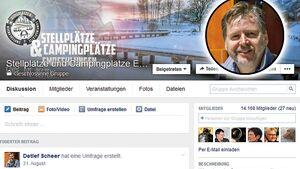 """""""Stellplätze und Campingplätze Empfehlungen"""" wurde 2012 von Detlef Scheer gegründet."""