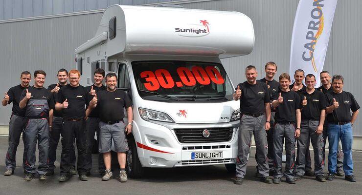 30.000 Capron Freizeitfahrzeug produziert