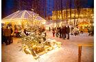Ausflug nach Nabburg mit einem Besuch des Weihnachtsmarkts auf Schloss Guteneck.