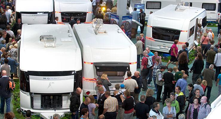 Bereits auf dem Caravan Salon konnte Hobby ein Plus von rund 20 Prozent bei den Wohnwagenverkäufen verbuchen.