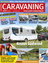 CARAVANING Cover September 2016