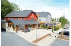 Camping Fuussekaul, rezeption, Restaurant, Fahrradverleih, Ferienwohnungen, kompakt
