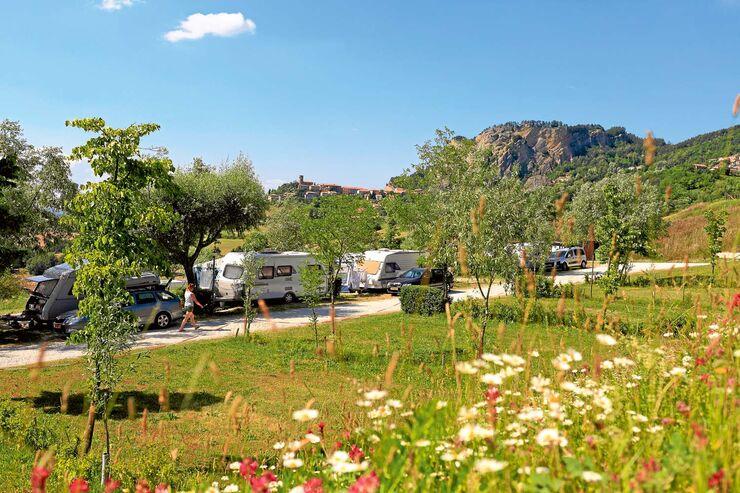 Campingplatz Perticara
