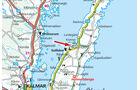 Campingplatz-Tipp: Schweden, Kappelluddens, Karte