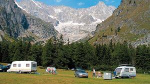 Campingplatz-Tipp: Schweiz, Des Glaciers
