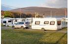 Campingplatz in Nordnorwegen