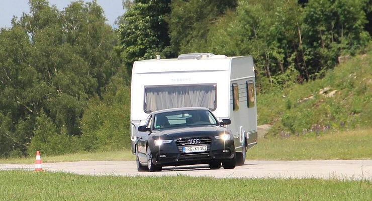 Caravan-Hersteller Tabbert setzt serienmäßig bei allen Modellen das elektromechanische Antischleuder-System von Alko ein.