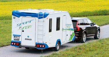 Caravan Knaus Sport & Fun mit Zugwagen