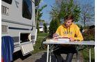 Caravan als Studentenbude